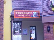 Terence'sDrivingSchoolSign