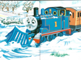 Thomas and the Snow Block