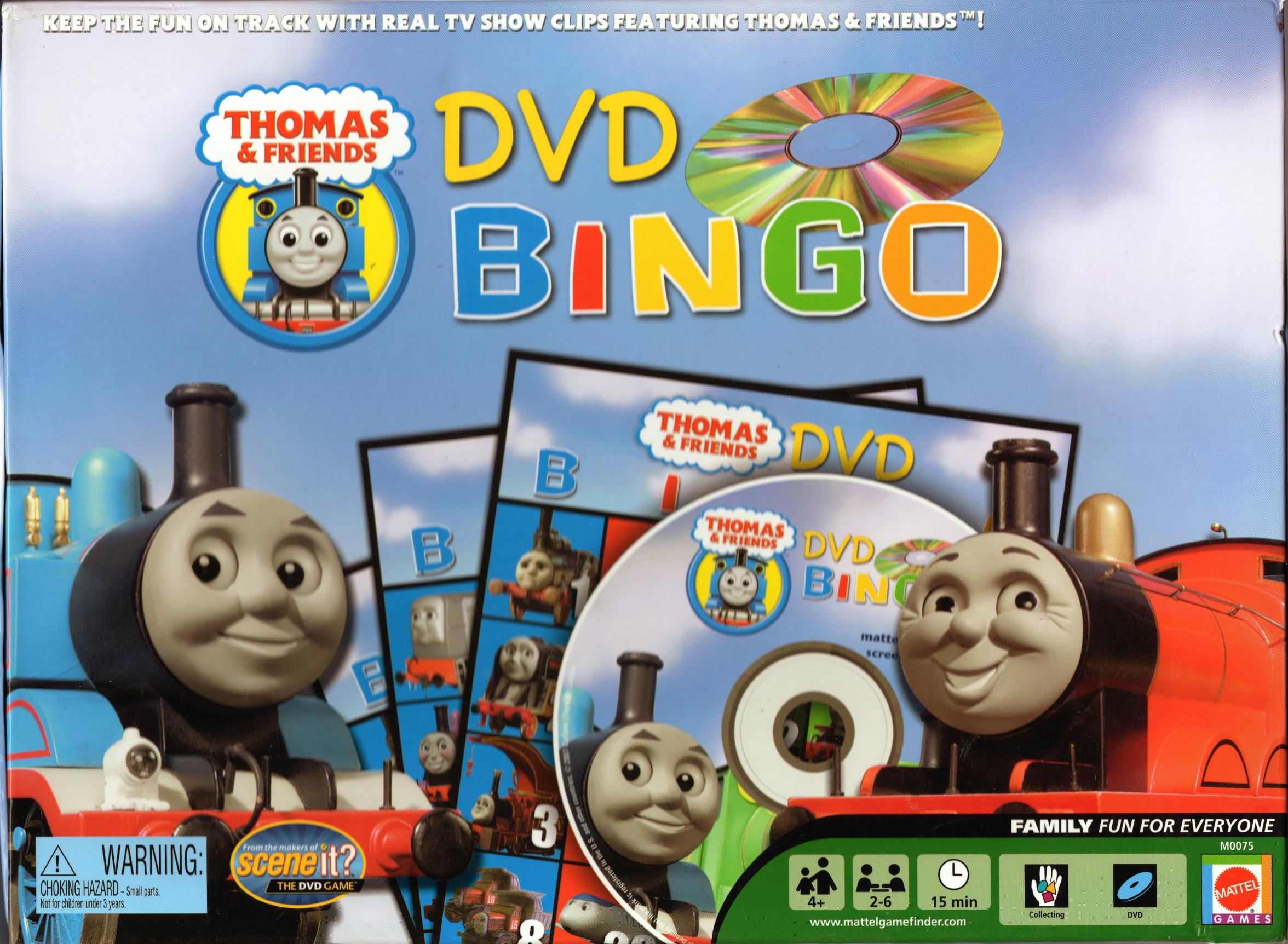 Dvd Bingo Thomas The Tank Engine Wikia Fandom Powered