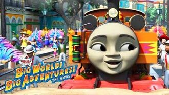 We're Friends🎵Music Video Big World! Big Adventures! The Movie Thomas & Friends Sing Along