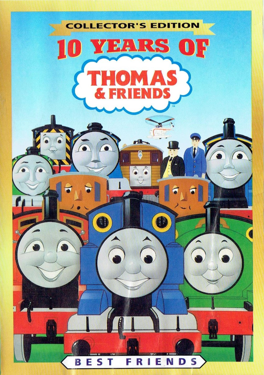 10 years of thomas the tank engine friends thomas the tank
