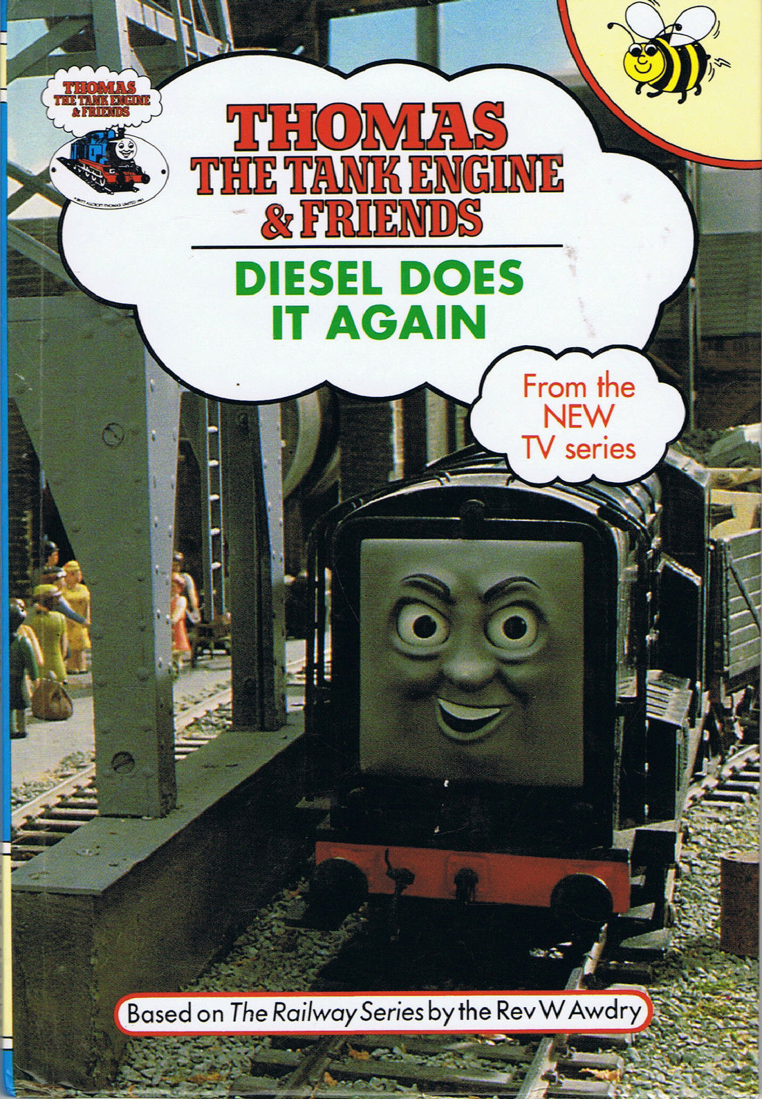 Diesel Does it Again (Buzz Book) | Thomas the Tank Engine Wikia ...