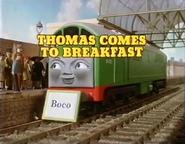 ThomasComestoBreakfast1986titlecard