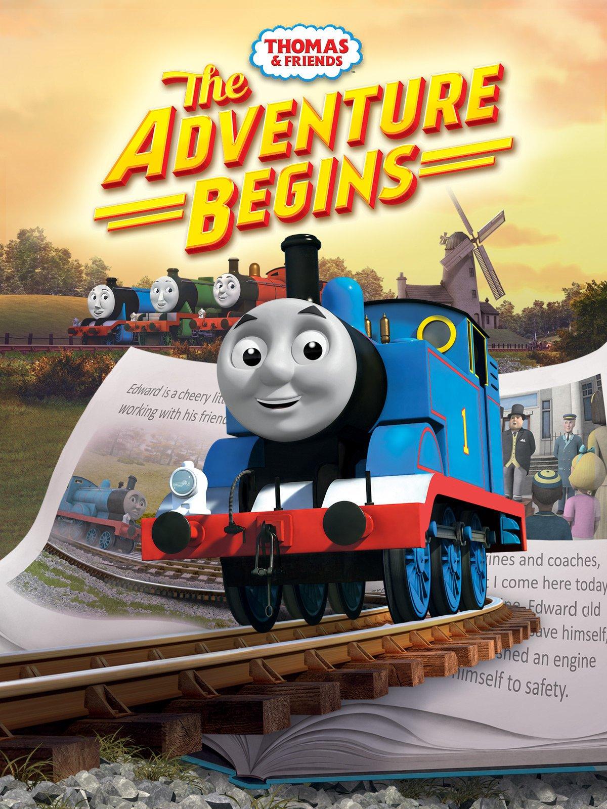 The Adventure Begins  Thomas the Tank Engine Wikia  Fandom