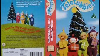 Happy Christmas From the Teletubbies VHS (1998) UK Version