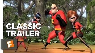 The Incredibles (2004) Trailer 2 Movieclips Classic Trailers