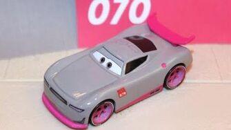 Mattel Disney Cars 3 Shriram (Trainee 70) Rust-eze Racing Center 2018
