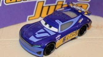 Mattel Disney Cars 3 Bubba Wheelhouse (Next Gen Transberry Juice 6) Piston Cup Racer Wallace