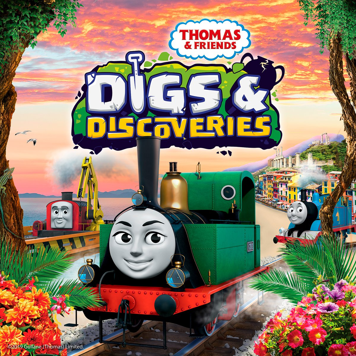 Image result for thomas and friends digs and discoveries