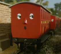 20.Red Narrow Gauge Coaches