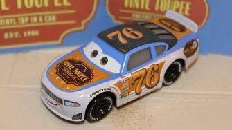 Mattel Disney Cars 3 Rev Roadages (Vinyl Toupee 76) Piston Cup Racer