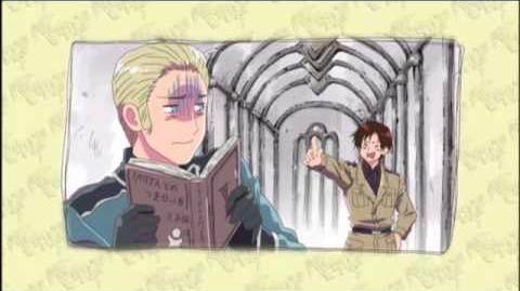 Hetalia Axis Powers on DVD 9 14 10 - Romano - Episode Clip