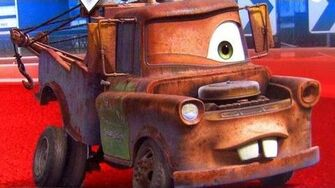One Eye Mater Cars 2 toys Glow in the Dark diecast