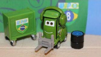 Mattel Disney Cars Adam Parke (Carla Veloso's Pitty) World Grand Prix