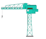 13.Spike Tower Crane