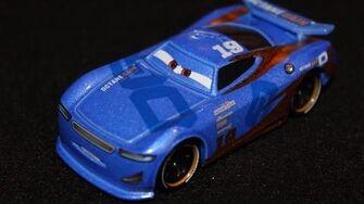 Mattel Disney Cars 3 Danny Swervez (Next Generation Octane Gain 19) Piston Cup Racer