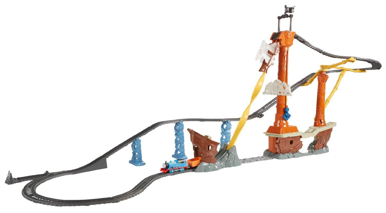 Fisher price thomas amp friends trackmaster treasure chase set new - Shipwreck Rails Set