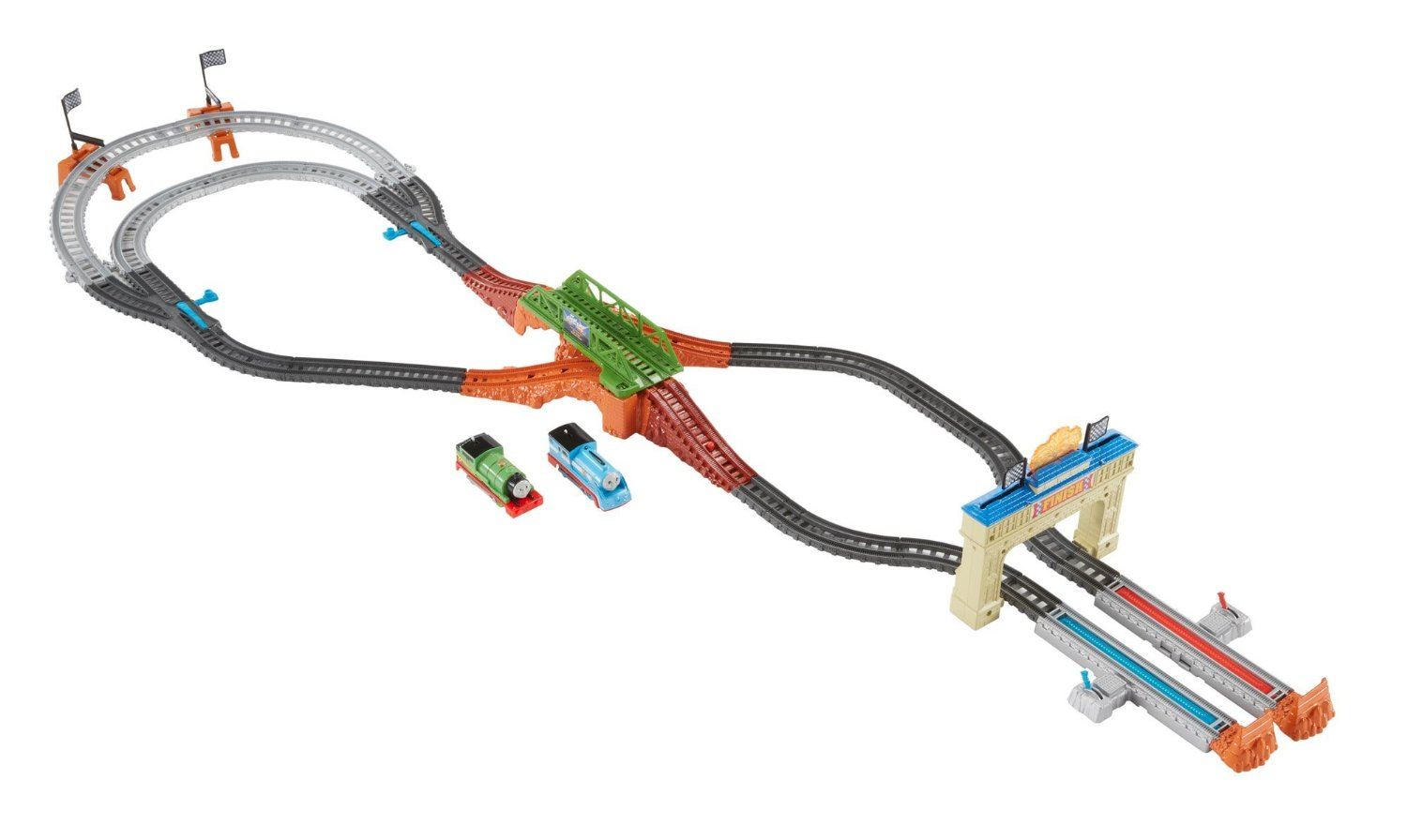 thomas the train track layout instructions