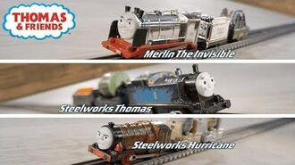 TrackMaster (Revolution) Scrapyard Escape Set Commercial