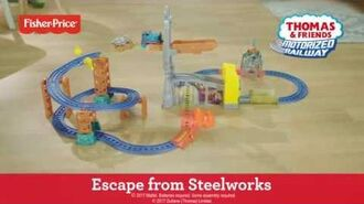 Motorized Railway Steelworks Escape Set demonstration