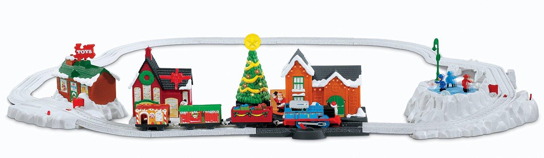 Thomas Christmas Train Set.Thomas Christmas Delivery Thomas And Friends Trackmaster