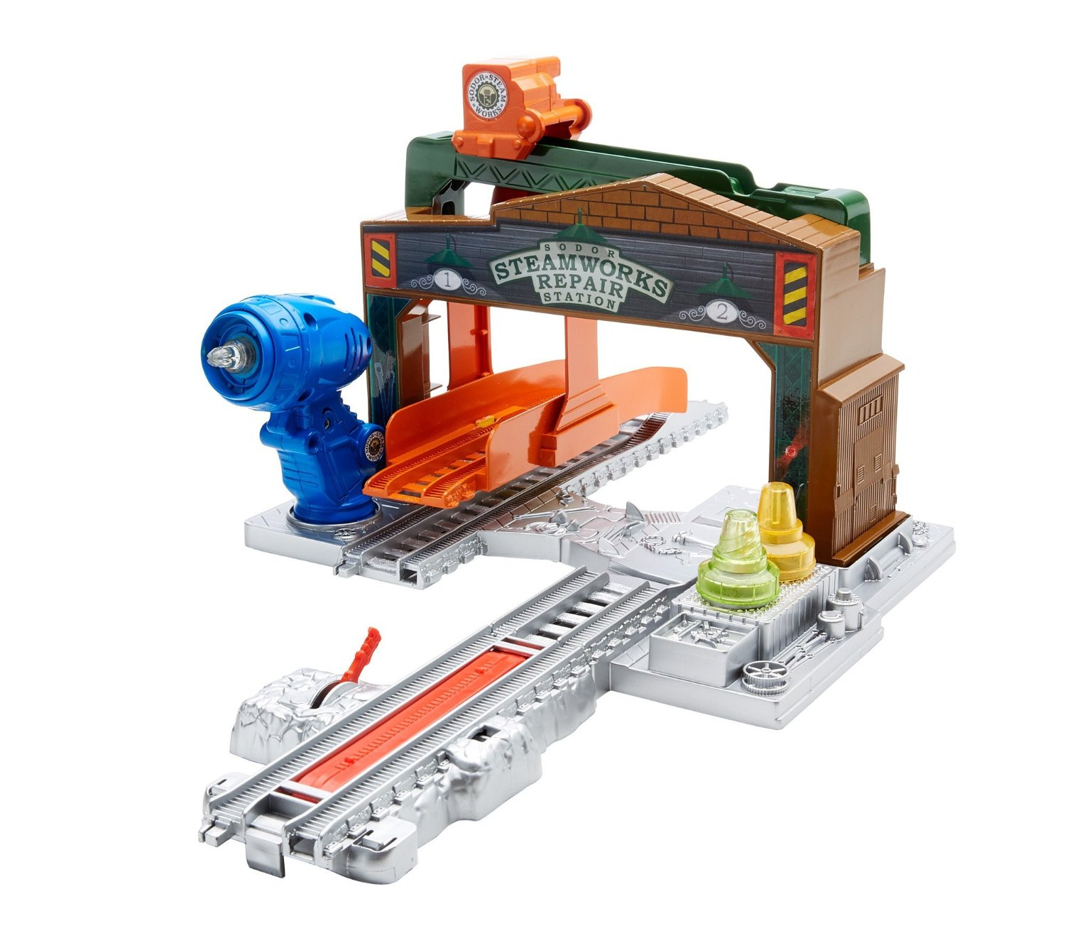 Steamworks Repair Station Thomas And Friends Trackmaster