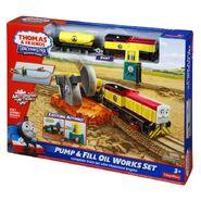 TrackMaster(Fisher-Price)PumpandFillOilWorksSetbox