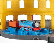 TrackMaster(Revolution)Thomaswithsteamandsparks