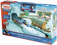 TrackMaster(Fisher-Price)Thomas'SnowStormAdventurebox