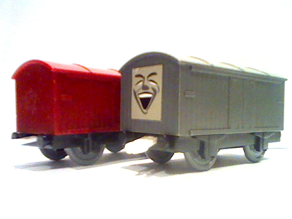 Troublesome Vans Thomas And Friends Trackmaster Wiki