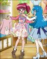 Puzzlun card Megumi 4b