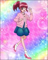 Puzzlun card Megumi 3a