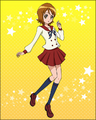 Puzzlun card Yuko 1
