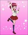 Puzzlun card Megumi 1