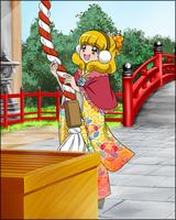 Puzzlun card Yayoi 4c
