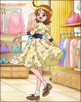 Puzzlun card Yuko 4b
