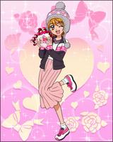 Puzzlun card Nagisa 3d