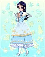 Puzzlun card Honoka 3d