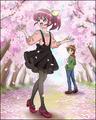 Puzzlun card Megumi 4a