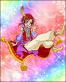 Puzzlun card Akane 3b