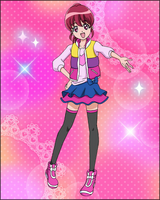 Puzzlun card Megumi 2