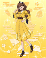 Puzzlun card Kirara 3d