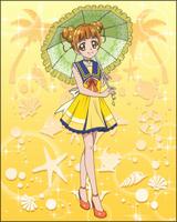 Puzzlun card Alice 3b