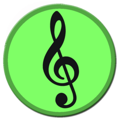 Transparent Treble Clefs