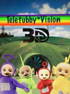 Teletubby*Vision 3D Poster