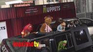 "Tinky Winky, Laa-Laa, Connor Orlando, Po, Hauro Nakajima ""The Teletubbies Movie"" World Premiere"