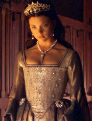 Natalie Dormer as Anne Boleyn in The Tudors.