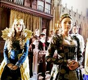 Sarah-Bolger-as-Mary-Tudor-and-Tamzin-Merchant-as-Catherine-Howard-in-The-Tudors-2007-2010.