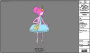 Modelsheet princessbubblegum