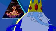 S5e24 Rei Gelado ve o Reino Doce queimando